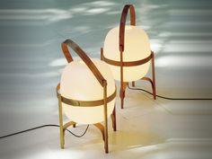 The classic Santa & Cole Cesta Table Lamp