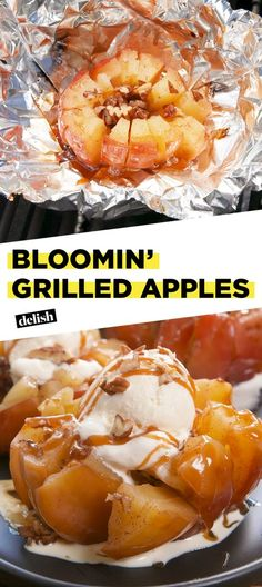 Bloomin' Grilled Apples Will Slay Any Summer BBQ - Bloomin' Grilled Apples Wi. - Bloomin' Grilled Apples Will Slay Any Summer BBQ – Bloomin' Grilled Apples Will Slay Any Sum - Fruit Recipes, Apple Recipes, Summer Recipes, Dessert Recipes, Cooking Recipes, Healthy Recipes, Salmon Recipes, Recipes Dinner, Chicken Recipes
