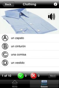 Learning Spanish apps