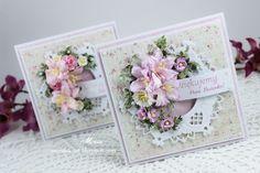 Moja papierowa kraina: Kartki z liliami