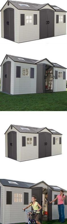 Garden And Storage Sheds 139956: Lifetime Dual Entry 8 Ft. W X 15 Ft.