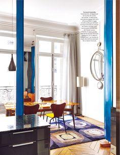 Paris 9ème, quartier de la Nouvelle Athènes / Parution magazine AD France - Galerie HervouetGalerie Hervouet