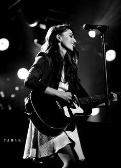 Seeing Sara Bareilles perform live is a must on my bucket list.