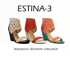 ESTINA-3 by Athena Footwear <available in 3 colors> Call (909)718-8295 for wholesale inquiries - thank you!