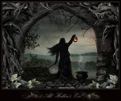 Magic Halloween Witch