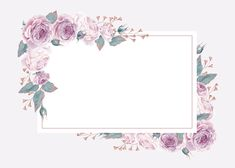 Flowery Wallpaper, Flower Background Wallpaper, Flower Phone Wallpaper, Framed Wallpaper, Flower Backgrounds, Pattern Wallpaper, Background Patterns, Boarders And Frames, Floral Save The Dates