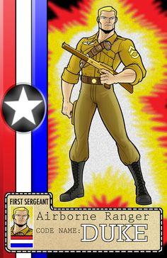 Real American Hero Series Duke by Thuddleston on DeviantArt