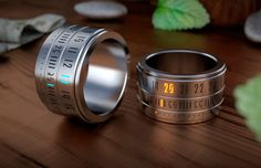 Ring watch. Wow, bit nerdy, but interesting