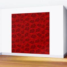 Rose Pattern Wall Mural