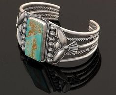 Stanley Parkers Traditional Old Style Navajo Jewelry