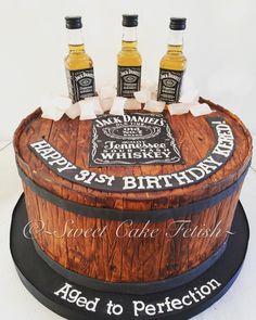 Jack Daniels Theme Cake