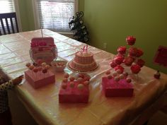 Pink Party Desserts