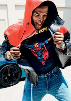 Cam Newton Steps Out in Fall's Biggest, Loudest, and Brightest Clothes Photos   GQ