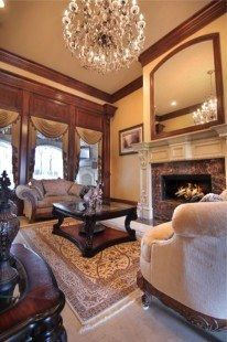 Customizing Your Fireplace Design to Fit Your Home http://www.LSTewartHomes.com #FirePlace #HomeDesign