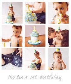 Cake Smash Photos - 1st birthday - www.familycreative.ca