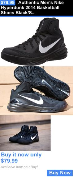 823f0b90249 Basketball  Authentic Mens Nike Hyperdunk 2014 Basketball Shoes Black Silver  Sz. 8.5 BUY