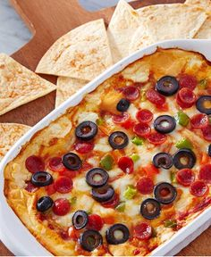 A Walmart Mom recipe by Tara Kuczykowski. All the flavor of your favorite pizza supreme in a hot, cheesy dip appetizer!