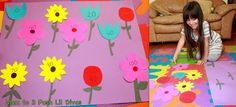 Mom to 2 Posh Lil Divas: Play to Learn: Planting a Numbers Garden