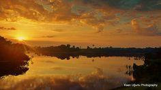 Sunrise at Amozon   by Kaan Ugurlu