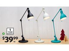 ALDI Ayva Bedside Lamp inc bulb $39.99