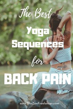 Yoga helps you not only to stretch your body but to soothe your mind! And even if you've never done yoga in your life, most probably you come across this word daily. See here the best yoga sequences for back pain! #YogaInspiration #YogaforBeginners #YogaLifestyle #BackPain
