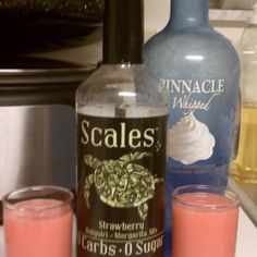 The perfect daiquiri without the guilt! Scales cocktail mixers