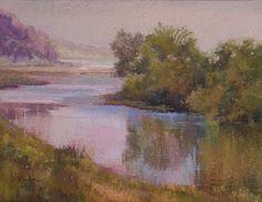"Artists in Pastel ""Coastal Mist""  Janis Ellison"