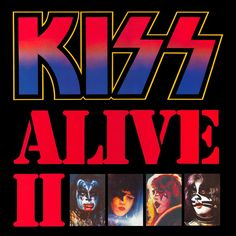 classic Kiss double album first pressing Kiss Alive II live recording LPs vinyl albums with cover sleeves collectors vinyl addicts record lovers from my private collection Kiss Album Covers, Rock Album Covers, Rock And Roll, Rock & Pop, Tom Berenger, Top 10 Albums, Great Albums, Extended Play, Black Sabbath