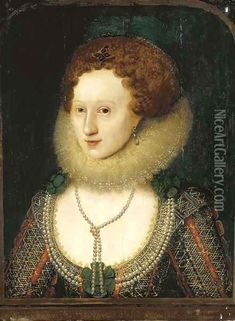 Anne of Denmark, queen of James I, was much given to frivolous pleasures - but she too knew tragedy. Mary Queen Of Scots, Queen Anne, King Queen, Anne Of Denmark, House Of Stuart, English Monarchs, Anne Of Cleves, Adele, Reign Fashion