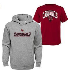 02e553975c00 NFL Youth Arizona Cardinals 2 pc set Hoodie  amp  T Shirt youth size small (