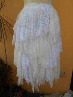 20 OFF vintage inspired extra shabby tutu in white by wildskin