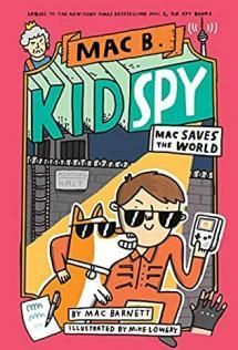 My name is Mac Barnett. I'm an author. But before I was an author, I was a kid. And when I was a kid, I was a spy. This is the story of a secret computer. It's got secret disguises, secret doors, secret soap, secret codes, and an epic showdown at a not-so-secret wall. Open this book to find out more about my adventures. But beware - this mission is top secret and very dangerous!