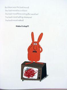 Big Rabbits Bad Mood on TV - Delphine Durand