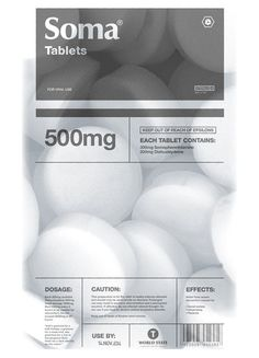 Soma. Pourquoi les labos pharmaceutiques n'engagent pas plus de graphistes pour leurs packagings ? Parce que pour la plupart, il y a vraiment du boulot...