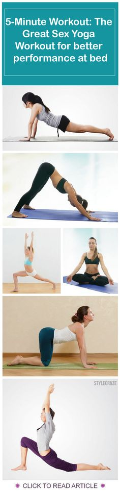looking for 5-Minute Workout: The Great Sex Yoga Workout. Here is a easy to mimic tutorial on 5-Minute Workout: The Great Sex Yoga Workout.