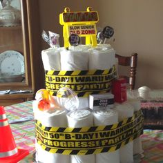 50th birthday depends dipper cake!!!