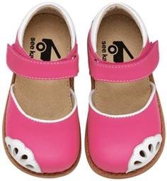 See Kai Run - Lauren hot pink