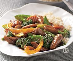 Sriracha Stir-Fry Recipe│This sweet and savory Sriracha stir-fry ...
