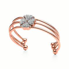 c5f3235f39f Buy Champagne Rose Gold Plated Clover Bracelet Set from Folli Follie at  Fabulous Collections the leading on-line retailer of contemporary designer  jewellery