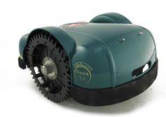 robot lawn mower Ambrogio L75 Deluxe model available UK.  http://www.ambrogiorobots.com/en/linea/L75.html