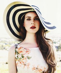 the beautiful Lana Del Rey