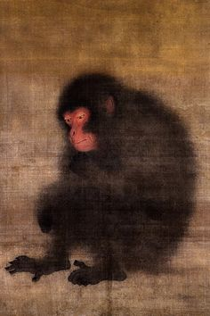 'A Monkey,' Mao Song, 13th century China