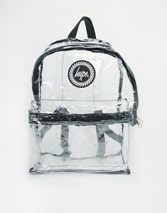 Enlarge Hype Transparent Backpack
