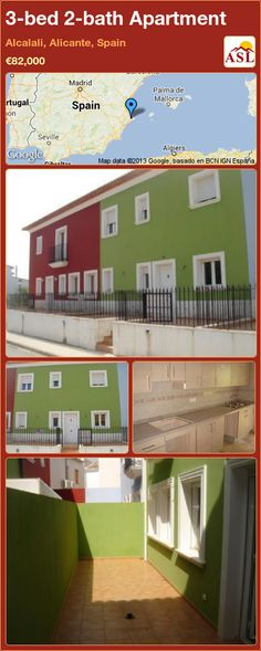 3-bed 2-bath Apartment in Alcalali, Alicante, Spain ►€82,000 #PropertyForSaleInSpain
