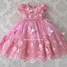 Baby Girl Party Dresses, Dresses Kids Girl, Birthday Dresses, Girl Outfits, Flower Girl Dresses, Princes Dress, African Dresses For Kids, Kids Dress Wear, Baby Frocks Designs