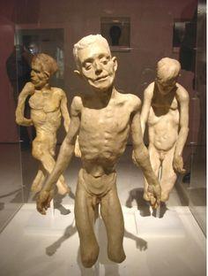 Eleanor Crook's strangely animated wax figure models