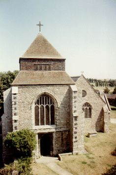 Minster Abbey, Isle of Sheppey, Kent, England, founded in 670, but was abandoned during the period of Viking raids. It was refounded by the Benedictines in 1080.