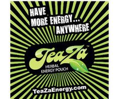 Get a #Free Teaza Herbal Energy Sample Pouch