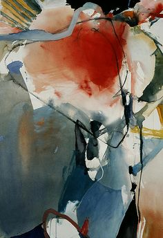 RANDALL DAVID TIPTON a good thing to bear in mind when learning how to use watercolour-let yourself go free!