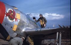 57th Fighter Group P-47, Italy.